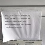 Laundry. With free detergent!