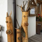 Timber carvings, quite cute