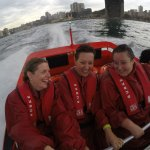 The selfie stick was a great idea to take our own photos...when saturated!!