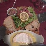 demi camembert rôti