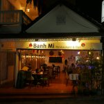 Thank you Peter for the lovely photo of the front of Banh Mi Guest House