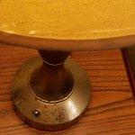 Rusty, dusty, dirty lamp