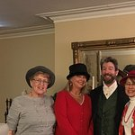 Merchant's house with the gentleman who did the Christmas play