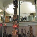 Inside Bill Reid Gallery.