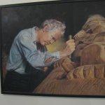 Bill Reid carving.