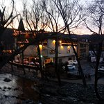 Balcony view of the Chattahoochee River I cannot say enough good things about The Helendorf Inn