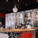 Stylische Lobby-Bar