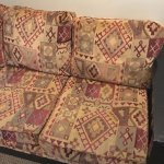 Old uncomfortable couch