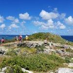 On top of Bird Island