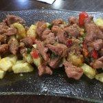Carne frita de cochino