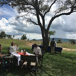 Lunch in the Serengeti