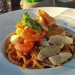 Linguini aux Fruits de Mer Sauce Homardine