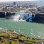 Falls van af de Canada kant.