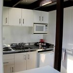Very bright, clean and functional kitchenette