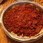 Spaghetti with Meat Sauce from La Piazza di Caruso