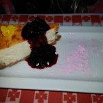 чизкейк с вареньем из местных ягод