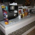 Top-Kaffeemaschine von Franke; Kaffee von Inflagranti - ein guter Tagesstart...