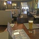 pleasant dining area / bar