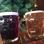 Christmas Breakfast and Belgian Blue and Sixer all from Bradfield Brewery, Beautiful