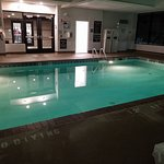 Indoor Heated Pool. Had it all to myself !