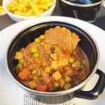 Beef olives or bragiolli.