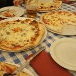 Pizzas Cappricciosa, Ragazzi y Prosciutto