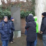 At the Berlin-Grunewald deportation station