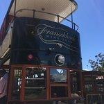 Double decker wine tram