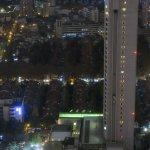 Okura Hotel as seen from Jin Jiang Tower Hotel 41nd floor