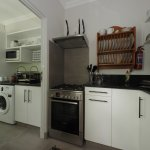 Fully self catering apartment with washing machine, dryer, dishwasher, fridge, oven and stove