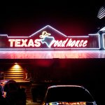 Front view of the Texas Roadhouse
