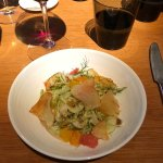 fennel citrus salad with truffle dressing