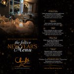 The Festive New Year's Menu