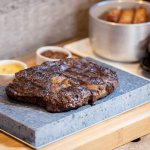 Enjoy steaks cooked to perfection straight from the grill with a range of sauces and sides.