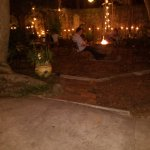 Nightly Fire pit in courtyard/grounds