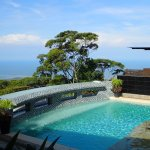 The RP Pool with incredible views of the Whale's Tail and the Pacific Ocean