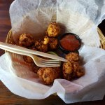 Conch Fritters. Sause was not bad