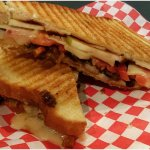 The CAM! The tastiest vegetarian sandwich around! Check out menu to see what's in it ;)