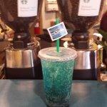 Blue Friday Italian Soda