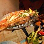 Salted cod sharing dish - amazing!