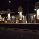 Metro station outside - LA - Long Beach