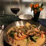 Special seafood ravioli