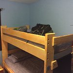 bunk bed style rooms in the least expensive option. Decent comfort and good sleep if no snoring.