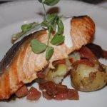 salmon main course
