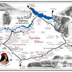 Apache Trail Map