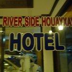 Riverside Houay Xai Foto