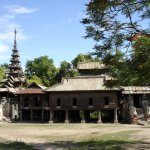 Ancient wooden monastery