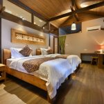 Our Villa rooms come in Twin and also Double arrangements