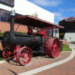 Steam Tractor outside the Museum
