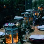 Antique plates, candlelit lanterns, and homemade Tuscan food amongst endless olive groves.